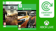 Xbox LIVE Code to Content