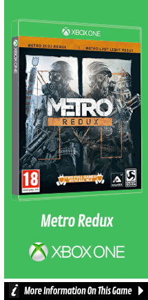 Find Out More About Metro Redux On Xbox One
