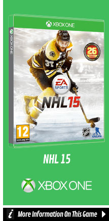 Find Out More About NHL 15 On Xbox One