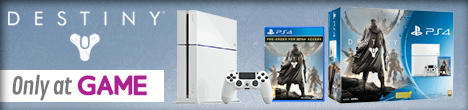 PS4 White With Destiny - Only at GAME
