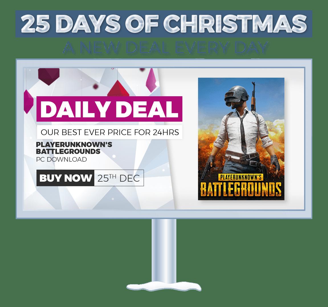 GAME - 25 Days of Christmas