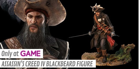 Game Exclusive - Assassin's Creed IV Blackbeard Figure