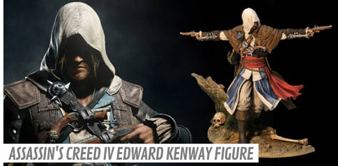 Assassin's Creed IV Edward Kenway Figure