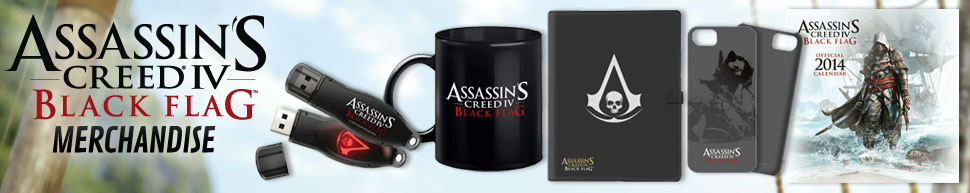 Assassin's Creed IV: Black Flag Merchandise