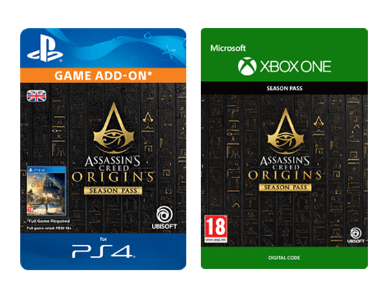 Assassins Creed Origins - Season Pass