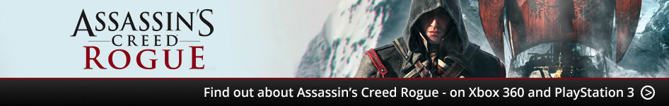 Find out about Assassin's Creed Rogue - on Xbox 360 and PlayStation 3