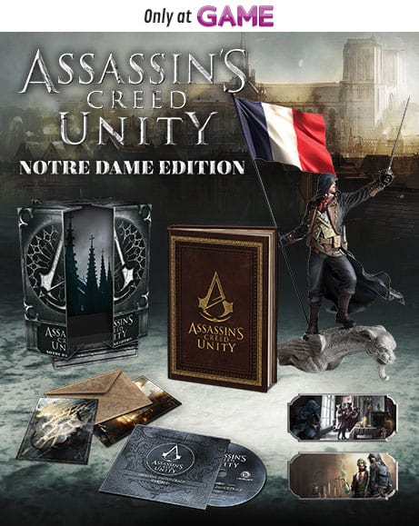 Assassins Creed Unity Notre Dame Edition
