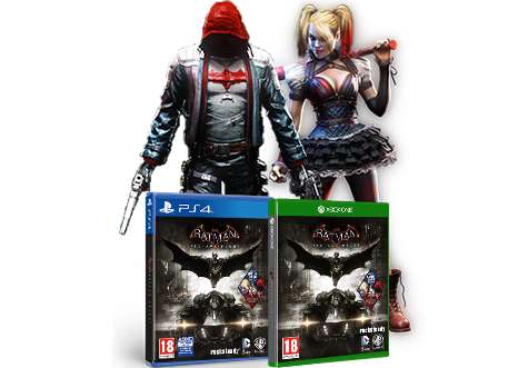 Batman: Arkham Knight Red Hood Edition - Only at GAME!