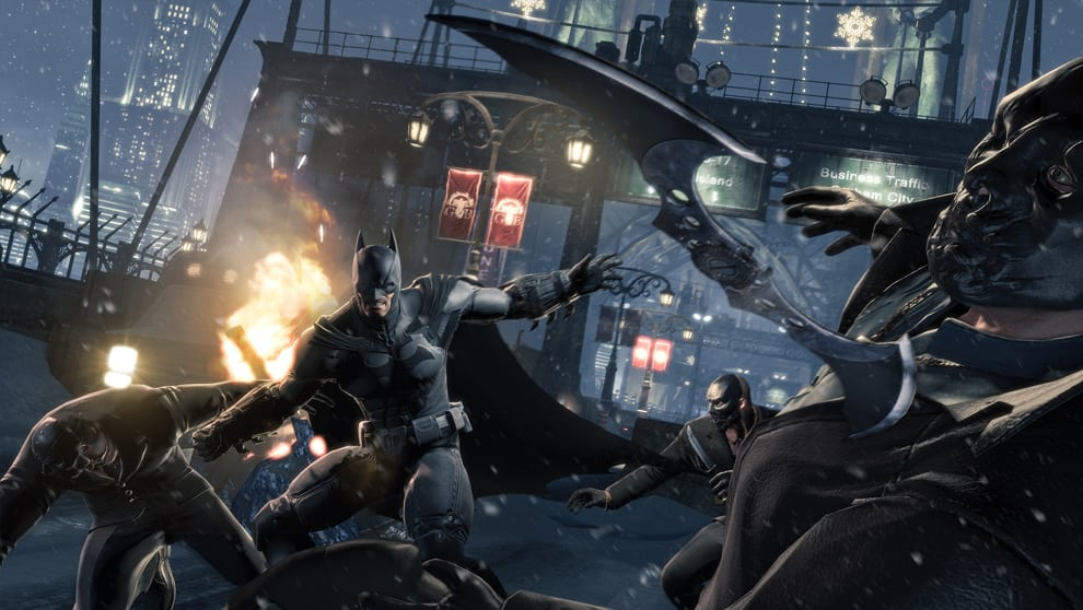 Batman Arkham Origins Screenshot 09