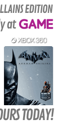 Batman: Arkham Origins GAME Exclusive Heroes & Villains Steelbook Edition (Xbox 360)
