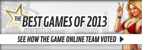 The Best Games of 2013 - see how the Online Team voted