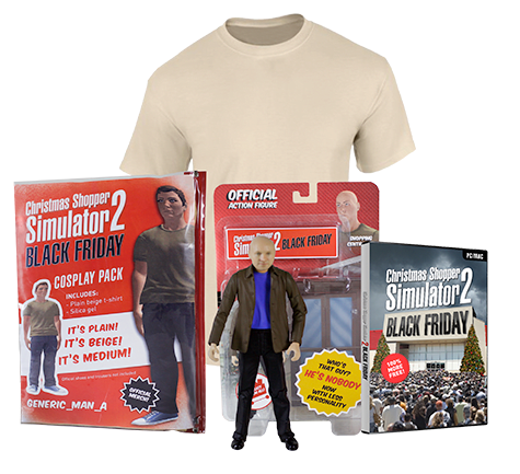 Christmas Shopper Simulator 2: Black Friday Merchandise