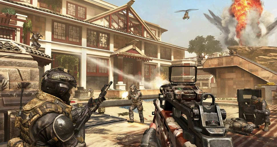 Call of Duty: Black Ops II Revolution Screenshot 01