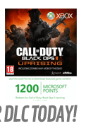 Call of Duty: Black Ops II - Uprising with GAME Exclusive Theme (Xbox LIVE)