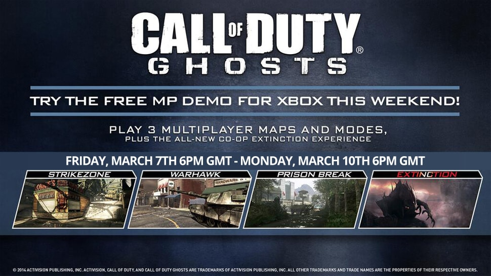Call of Duty: Ghosts Micro DLC Packs