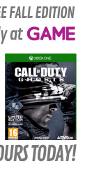 Call of Duty: Ghosts GAME Exclusive Limited Preorder Edition (Xbox ONE)