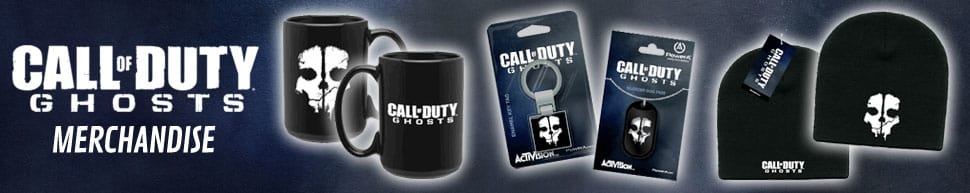 Call of Duty: Ghosts Merchandise