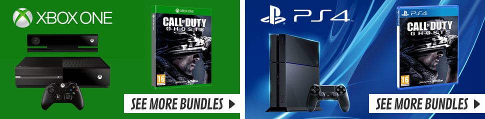 Call of Duty: Ghosts - Playstation 4 & Xbox One Console Bundles