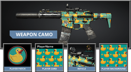 Call of Duty: Ghosts - Ducky Weapon Camo