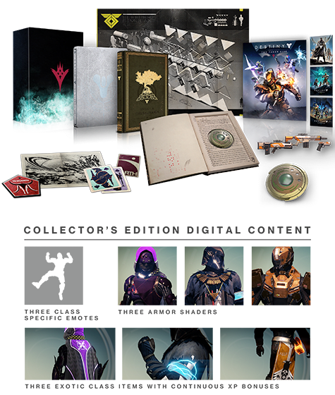 Destiny: The Taken King - Collector's Edition