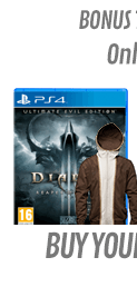 Diablo III Ultimate Evil Edition with Tyrael Hoodie (PS4)