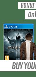 Diablo III Ultimate Evil Edition with Tyrael Hoodie (PS4)