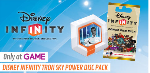 Disney INFINITY Tron Sky Power Disc Pack