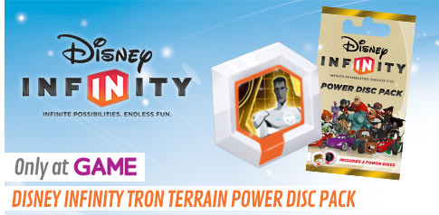 Disney INFINITY Tron Terrain Power Disc Pack