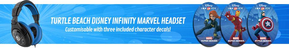 Turtle Beach Disney Infinity Marvel Headset for PS4, Xbox 360, Wii U, PC & Mac