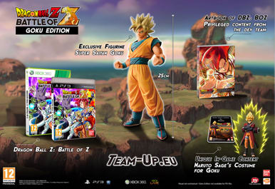 Dragon Ball Z: Battle of Z Goku Edition - Only at GAME