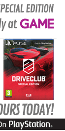 Preorder Driveclub Special Edition - Only at GAME