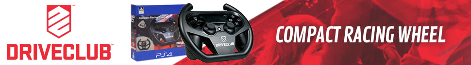 PlayStation 4 Driveclub compact Steering Wheel