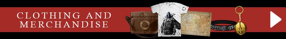 The Elder Scrolls Online Clothing and Merchandise