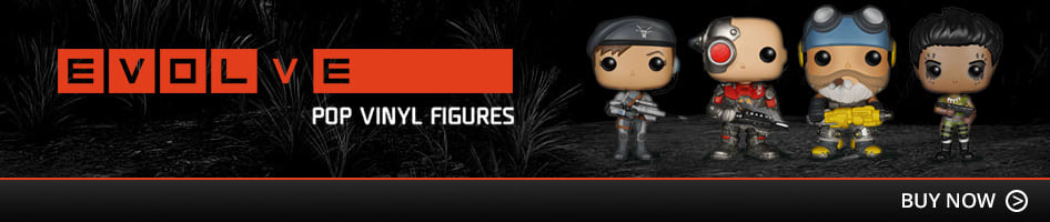 Evolve Pop Vinyl Figurines