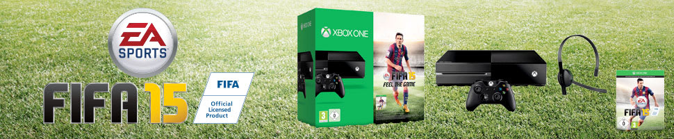 Xbox One with FIFA 15 Download