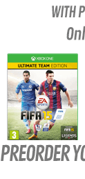 FIFA 15 Ultimate Team Edition with Preorder Pack Only at GAME - Xbox One
