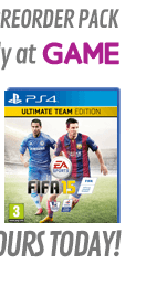 FIFA 15 Ultimate Team Edition with Preorder Pack Only at GAME - PS4