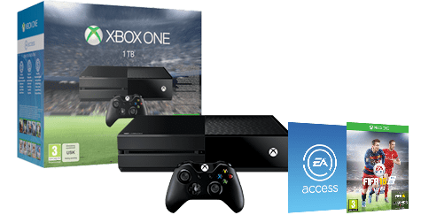 Xbox One Console with FIFA 16
