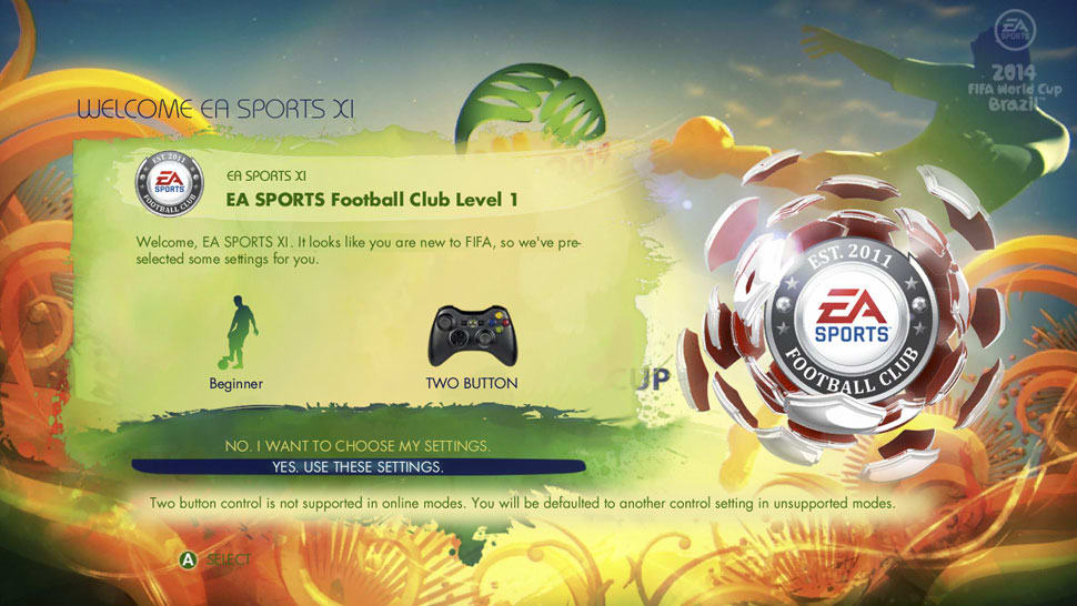 EA SPORTS 2014 FIFA World Cup BrazilScreenshot 05