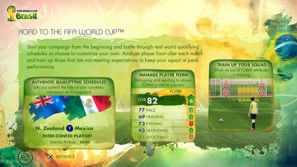 EA SPORTS 2014 FIFA World Cup BrazilScreenshot 07