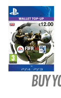 FIFA 14 Ultimate Team Wallet Top Up (PSN)