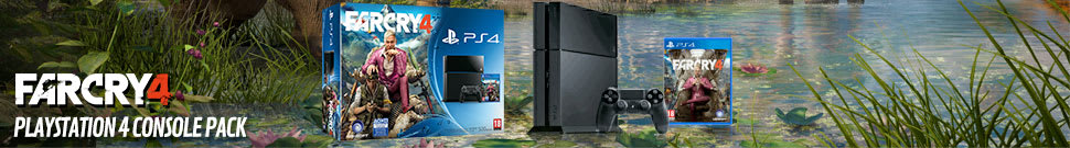 PlayStation 4 with Far Cry 4