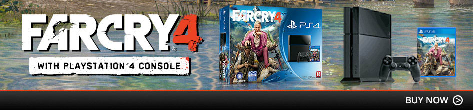 PlayStation 4 Console with Far Cry 4