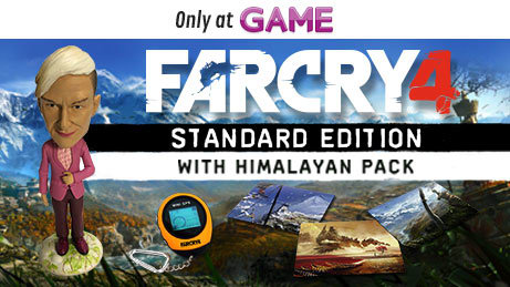 Far Cry 4 Standard Edition with Himilayan Pack
