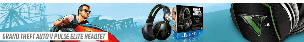Grand Theft Auto V Pulse Elite - Wireless Stereo Headset