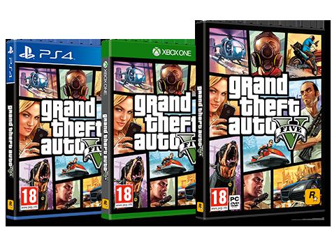 087b82c3d GAME - Grand Theft Auto V - GTA V