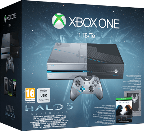 Halo 5: Guardians Limited Edition Xbox One Console - Only at GAME