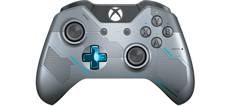 Halo 5: Guardians Limited Edition Xbox One Wireless Controller - Only at GAME