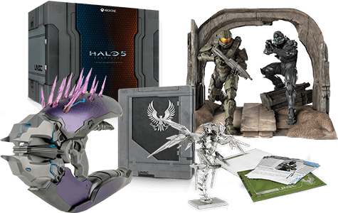 Halo 5: Guardians Pink Mist Limited Collector's Edition