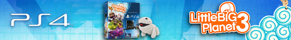 LittleBigPlanet 3 PlayStation 4 Console MEGA Pack - Only at GAME